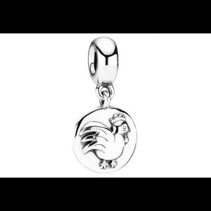 Pandora Retired Year of the Rooster Charm